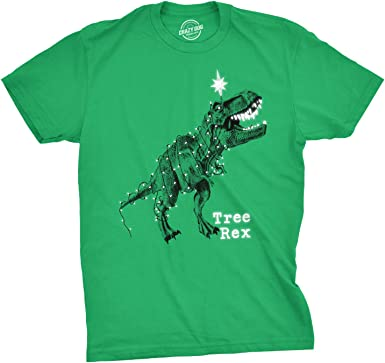 Tree Rex Funny T-Rex Dinosaur Christmas T-Shirt Gift Idea