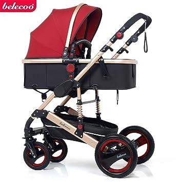 Amazon.com: Cochecito plegable 2 en 1 para bebé recién ...