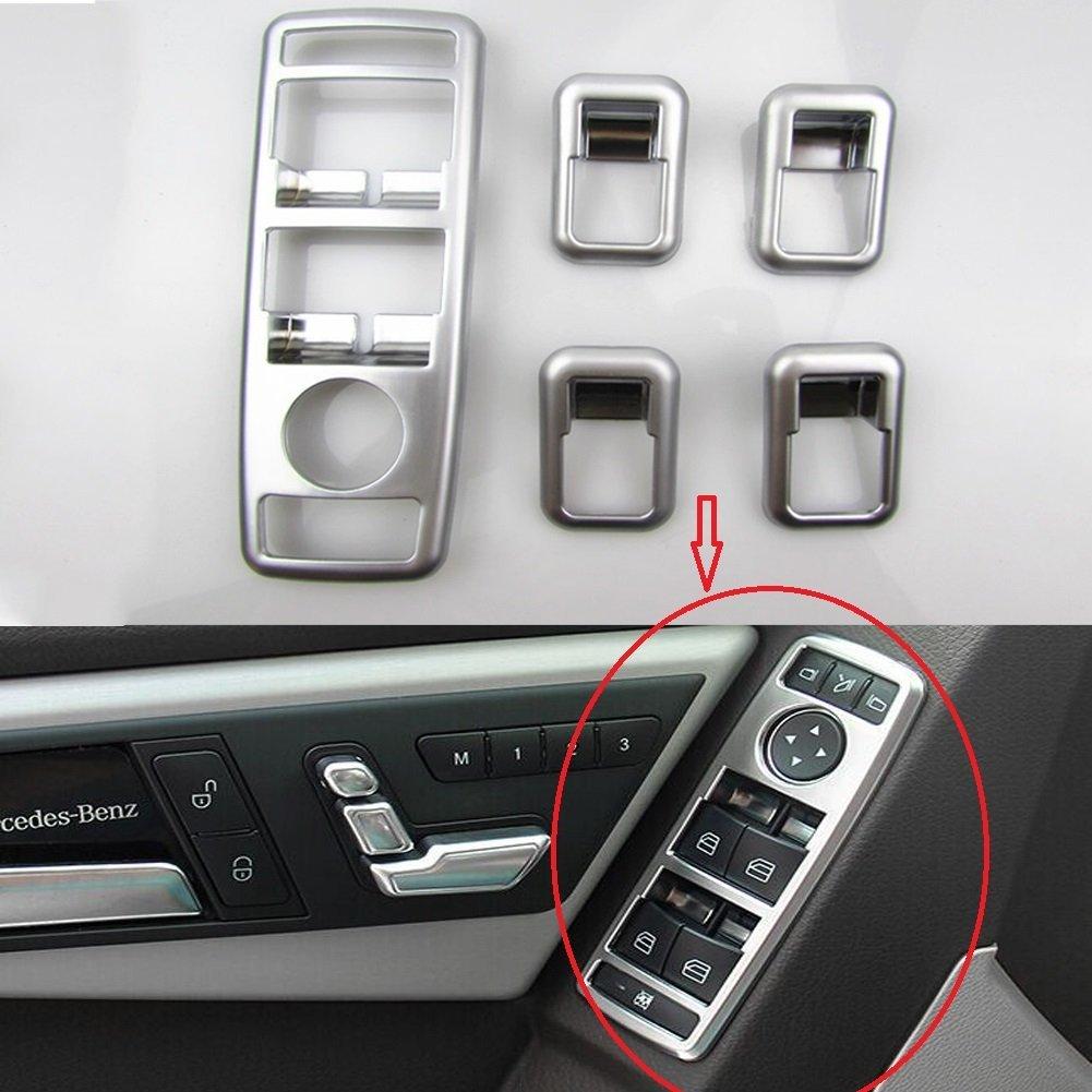 Angelguoguo Car Door Window Glasses Lifter Button