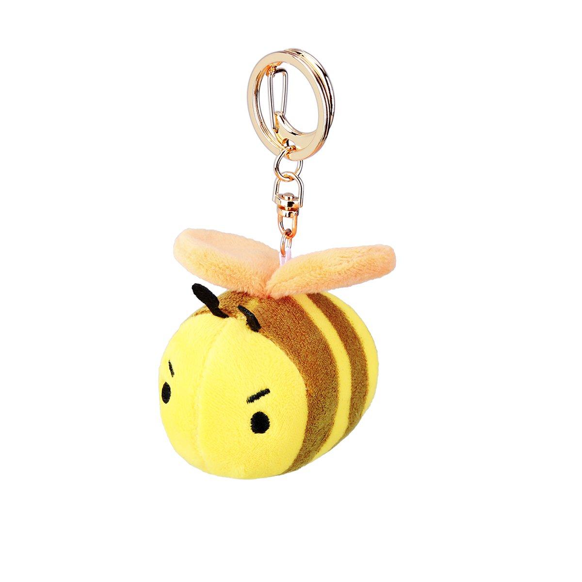 Bear Gentleman 130 Db Personal Alarm, Mini Bee SOS Panic Alarms for Women,Kids,Elder.Smart Positions Apps with Pin Anti Lost Design Bear Gentlemam 900096