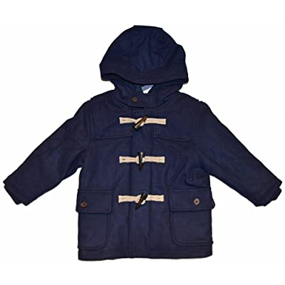 Baby Gap Boys Navy Toggle Duffle Hooded Coat 18-24 Months