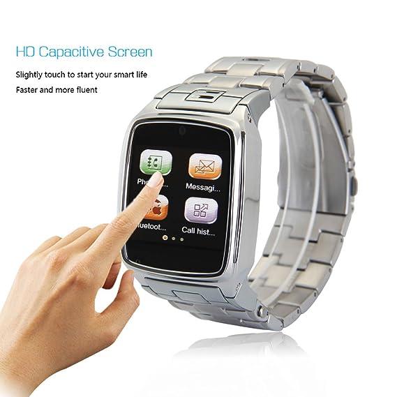 Excelvan® Reloj Movil Libre Smartwatch (Pantalla 1.54