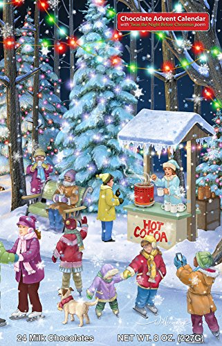 Woodland Skaters Chocolate Advent Calendar (Countdown to Christmas) (Christmas Night B4)