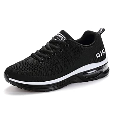 SITAILE Women Men Athletic Walking Sneakers Casual Lightweight Breathable Air Cushion Tennis Running Shoes  B078TCYHWQ