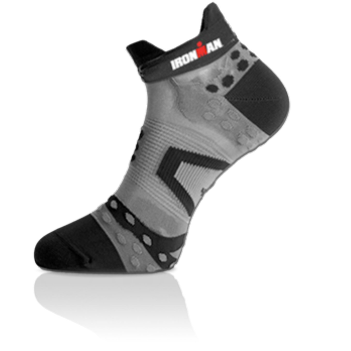 Compressport Pro corsa di calze Run Ultra light low cut Ironman Edition - solo 12 grammo - corti calzino corsa Marathon Triathlon calze- 024 011 416