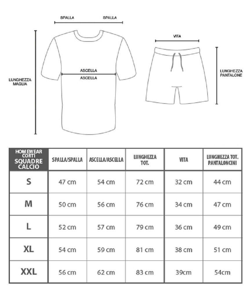 Pyjamas chemise et shorts pour hommes adultes Juventus Clothing PS 24994