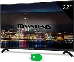Televisores led HD 32 Pulgadas TD Systems K32DLT3H, Resolución HD, 3X HDMI, VGA, 2X USB Reproductor y Grabador.: Amazon.es: Electrónica