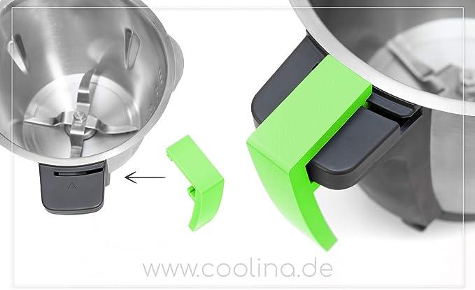 Compra Coolina - Mango para grifo de mezclas Monsieur Cuisine Connect (MCC), color verde en Amazon.es