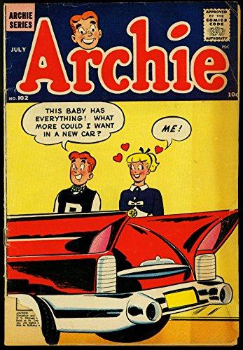 Archie Comics #102 1959- Betty cover- Veronica- Humor FAIR