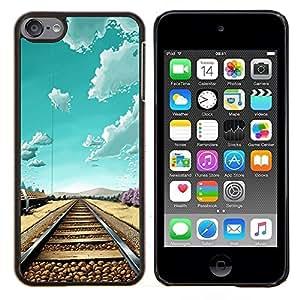 Dragon Case - FOR Apple iPod Touch 6 6th Generation - I'm fine - Caja protectora de pl??stico duro de la cubierta Dise?¡Ào Slim Fit