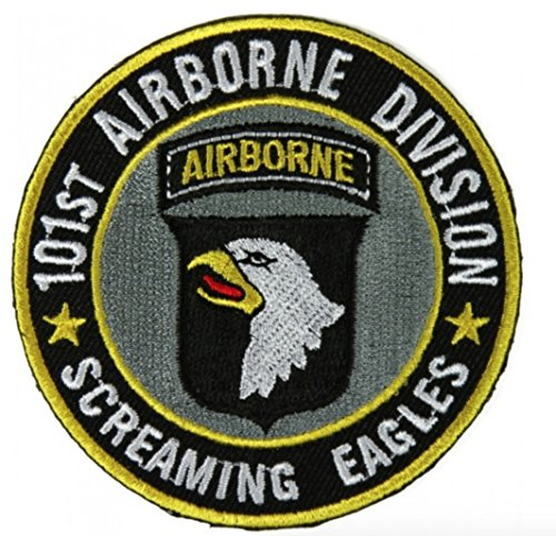 101st Airborne Division Patch Screaming Eagles - 3 x 3 inch