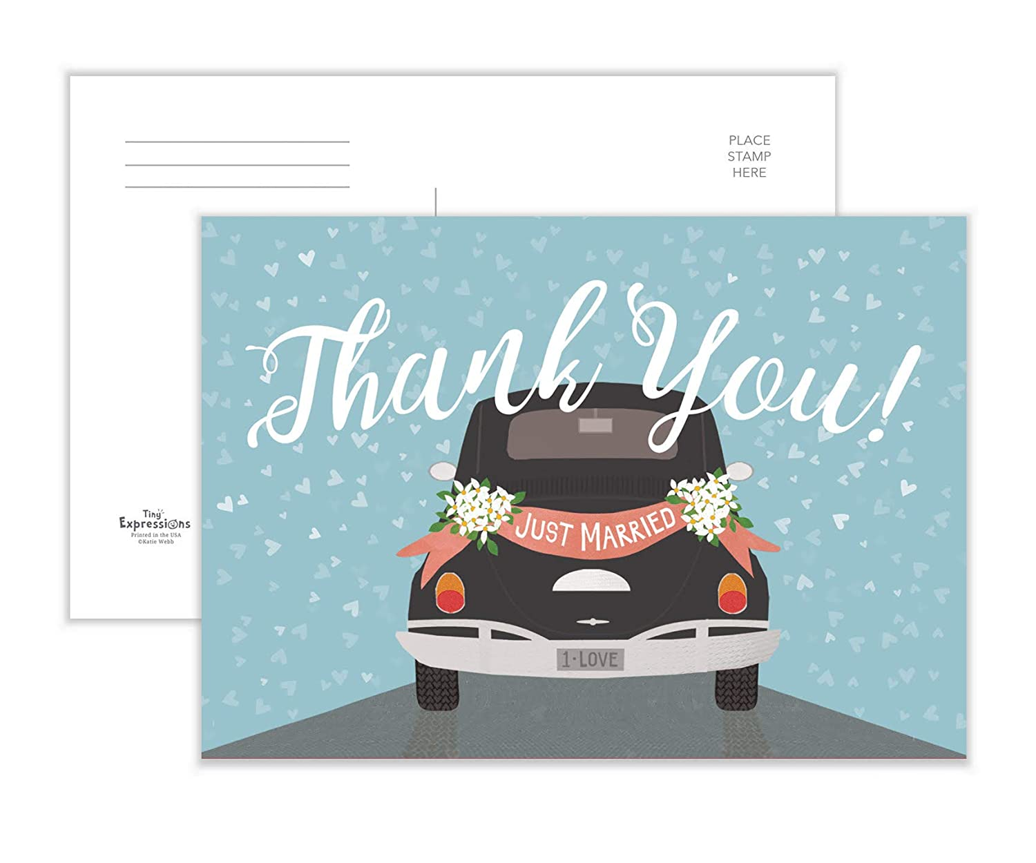 Amazon Thank You Cards Wedding