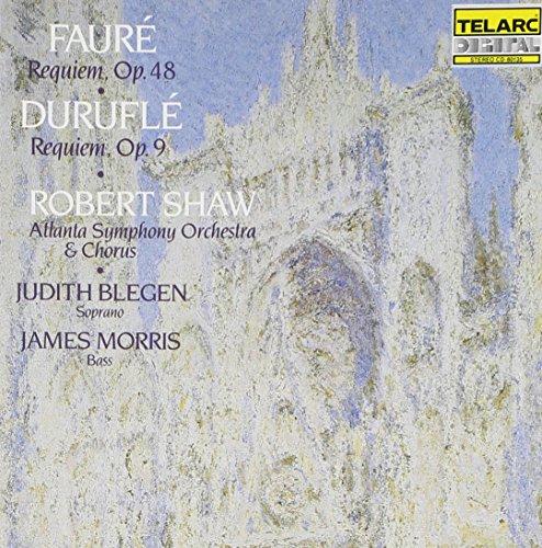 Faure: Requiem, Op. 48 / Durufle: Requiem, Op. 9 by Telarc