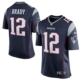 New England Patriots Tom Brady Blue Youth Nike Game Jersey (youth small 8)