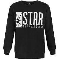 Noisy Sauce Flash TV Star Laboratories Boy's Sweatshirt (13-14 Years)