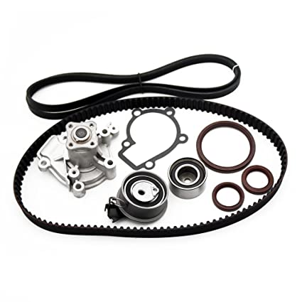 Timing Belt Component Kit (With Water Pump) Fits 2007   2010 Hyundai Elantra  2005