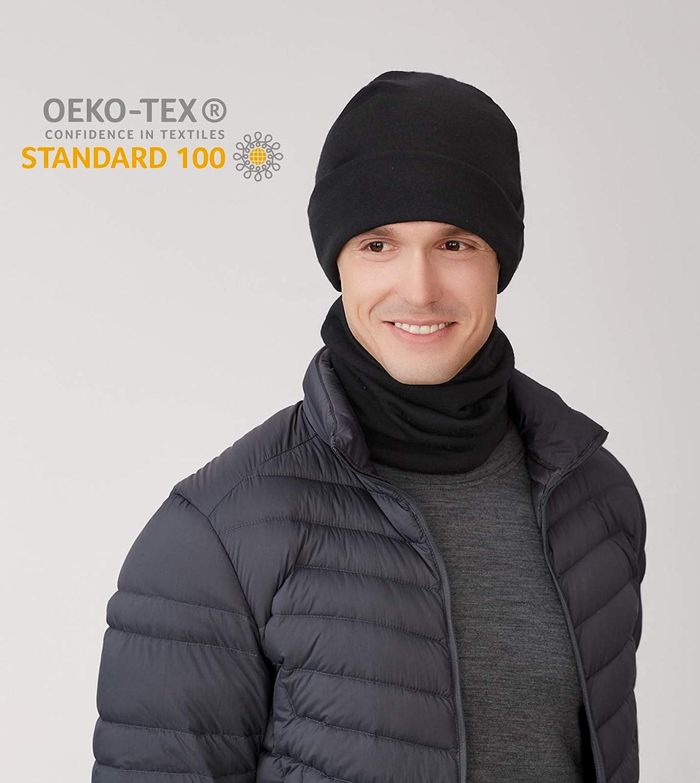 LAPASA 100/% Merino Neck Gaiter Unisex Midweight Merino Wool Face Cover Scarf Skiing Neck Warmer M81