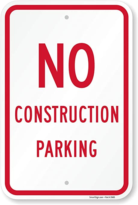 CUSTOMER PARKING ONLY SIGN DURABLE ALUMINUM NO RUST FULL COLOR CUSTOM SIGN#028