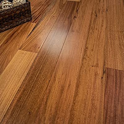 """Amendoim Prefinished Engineered Wood Flooring 5"""" x 1/2"""" Samples at Discount Prices by Hurst Hardwoods"""