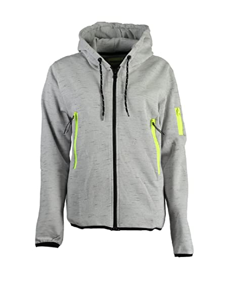 Capuche Fashionista Sweat Clair Taille Gris 3 Geographical À Femme Norway BtAUwA