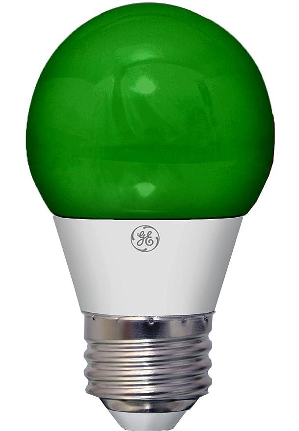GE Lighting 92126 3-Watt LED Party Light Bulb with Medium Base ...