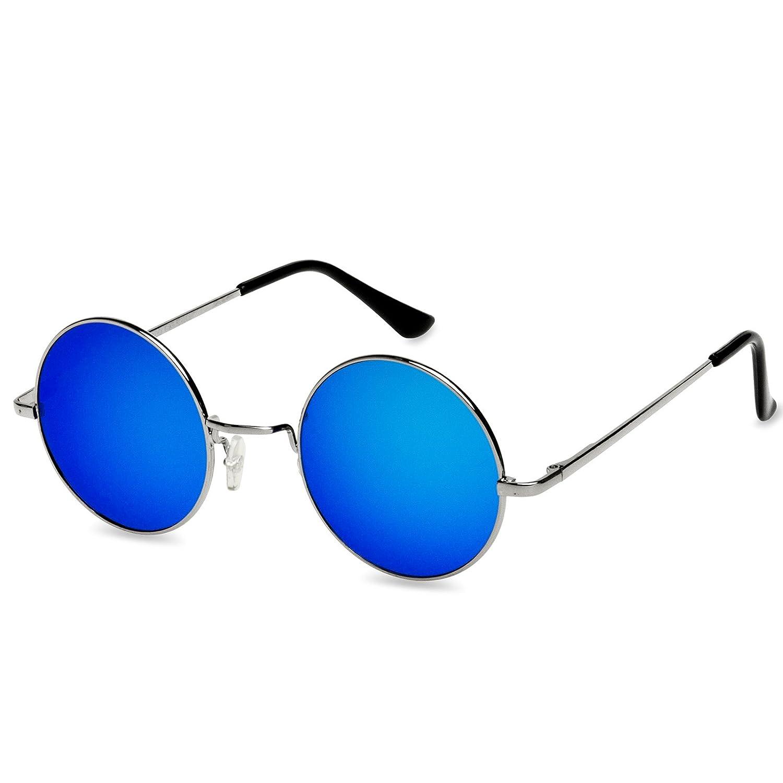 539457f085a00f CASPAR - SG038 - Lunettes de soleil rondes unisexe style hippie rétro en  métal - verres larges - plusieurs coloris  6LPcS1010619  - €11.86