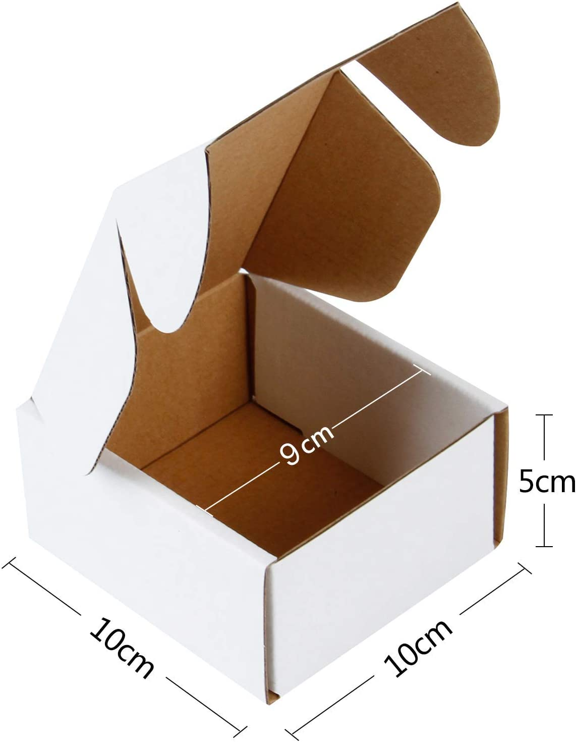 """100-3 x 2 x 2/"""" Corrugated Mailer Ships Flat and Fold Together in Seconds"""