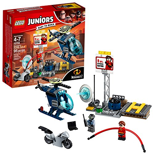 LEGO Juniors Elastigirl's Rooftop Pursuit 10759 Building Kit (95 Piece)