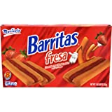 Marinela Barritas De Fresa En Caja Strawberry Bars Box, 18.06 oz
