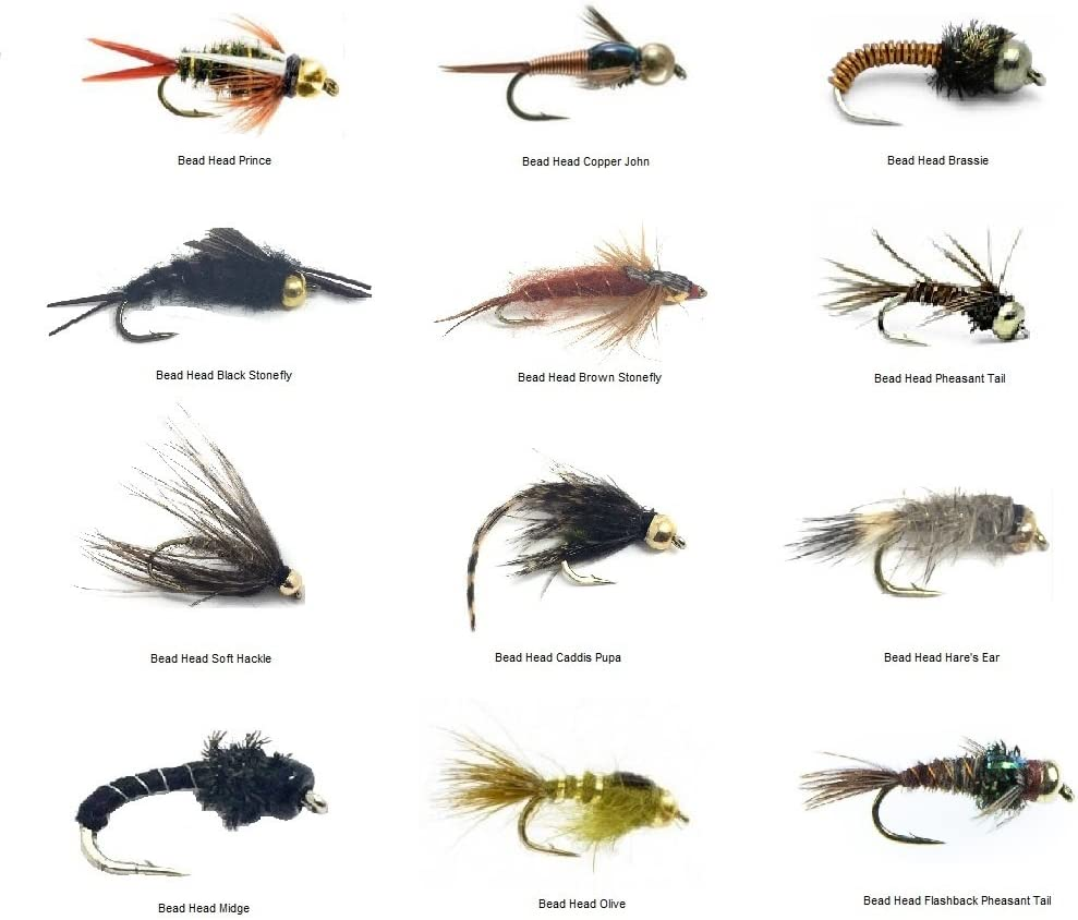 6 WOOLLY BUGGER FISHING FLIES~ Size 6 ~ Six 3 Black Flies ~ 3 Olive