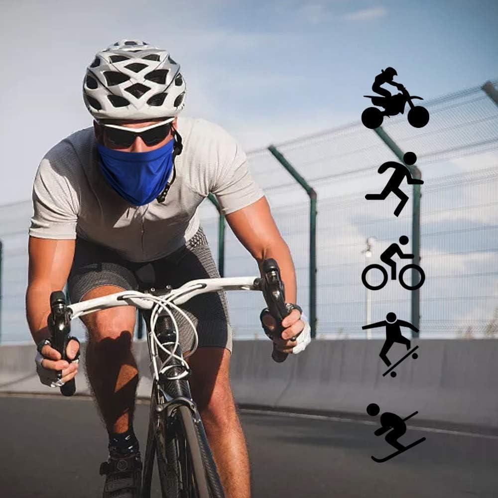 Arcweg Cache Cou Tubulaire S/échage Rapide Multi-Usage Unisexe Bandeau /Élastique Cache-Col Anti-Solaire Bonnet Respirant Ultra-Douce /Élastique Tour de Cou Cyclisme V/élo Course Moto pour Toutes Saisons