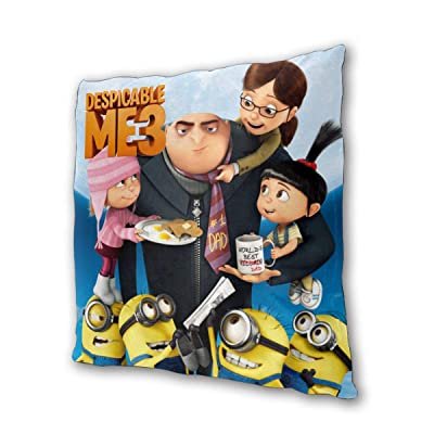 "Despicable Me Outdoor/Indoor Cushions 18.5""x 18.5"", 2 Pieces: Kitchen & Dining"