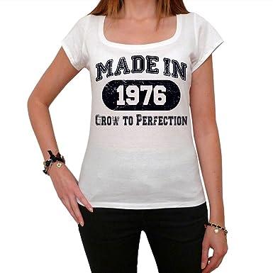 Fabricado en 1976 Camiseta de regalo, regalo de cumpleaños ...