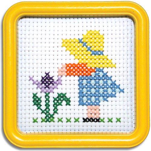 Easystreet Little Folks Sun Bonnet Sue Counted Cross-Stitch Kit