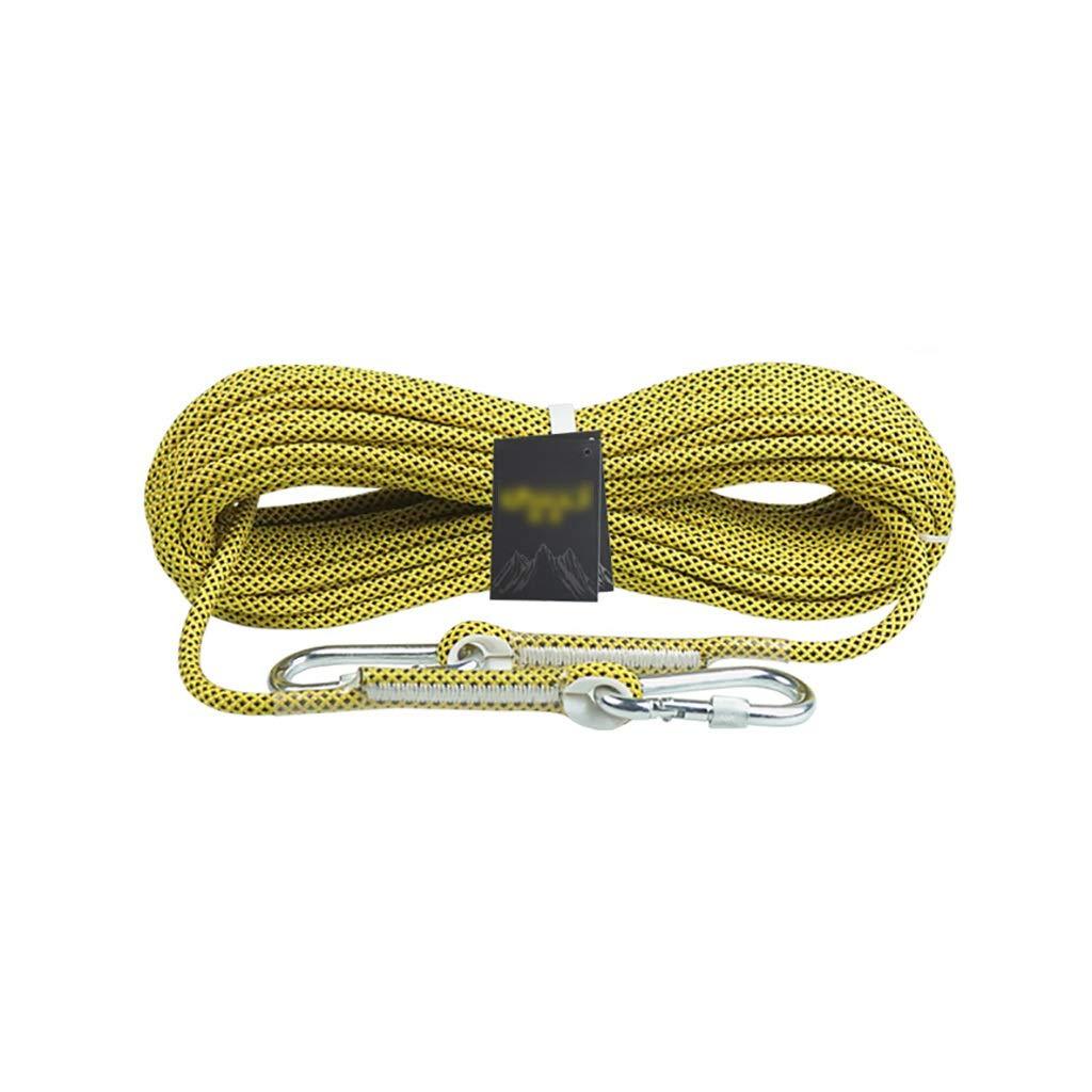 - QSJY Climbing Ropes Corde d'escalade 8MM Alpinisme Trekking assistée matériaux de Traction fournis Double Corde en Descente 8mm-50M