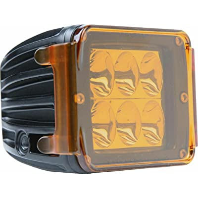 Rigid Industries 20203 Dually/D2 Amber Protective Polycarbonate Cover: Automotive