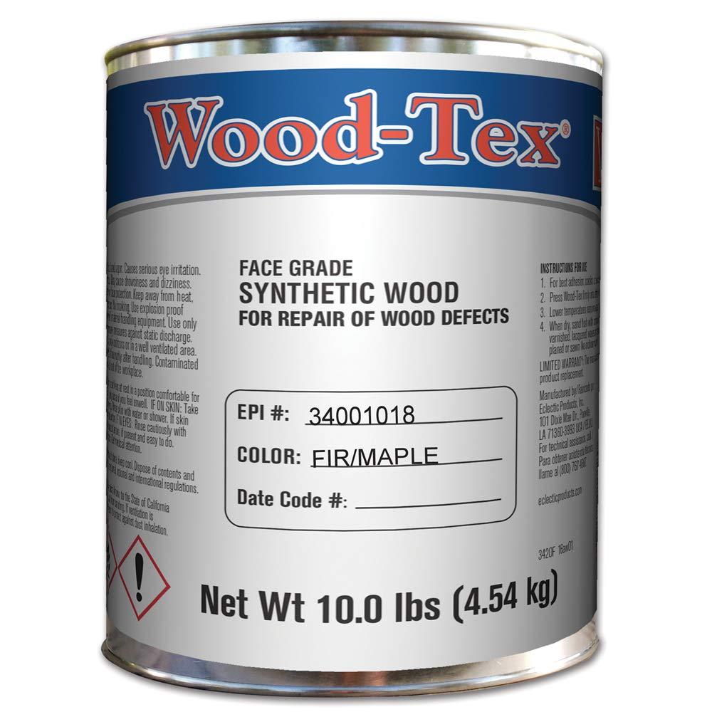 Wood-Tex 34001018 Wood Filler, Fir/Maple, One Gallon