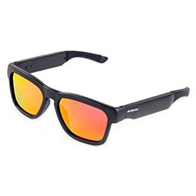 1af3f5e8da3c Amazon.com: Inventiv Wireless Bluetooth Sunglasses, Open Ear Music &  Hands-Free Calling, for Men & Women, Polarized Lenses, Compatible with  iPhone/Android ...