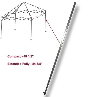 Quik Shade Expedition Gazebo Canopy 10 X 10 ADJUSTABLE LEG SLIDER CAP Parts : Garden & Outdoor