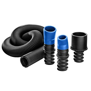 Dust Right Universal Small Port Hose Kit
