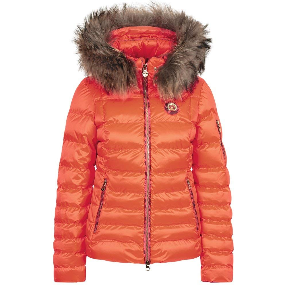 : SPORTALM Kyla RR Neon Down Ski Jacket with Real