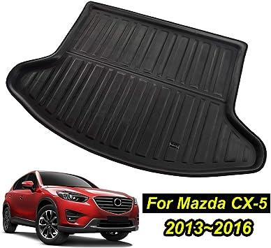 Custom Fit Cargo Liner for Mazda 3 Sedan 2014//2015//2016//2017//2018 XUKEY Trunk Mat for Mazda 3