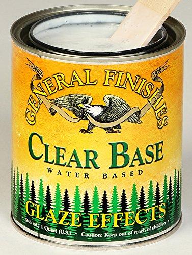 - General Finishes Water Based Glaze Effects Burnt Umber Quart
