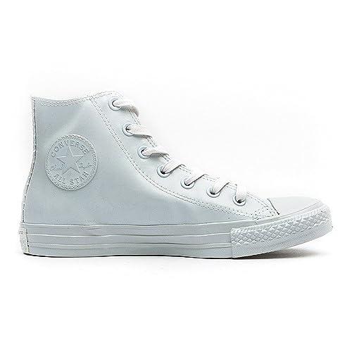 Converse All Star Chuck Taylor de caucho de alta damas zapatillas blancas 547256C, Damen -