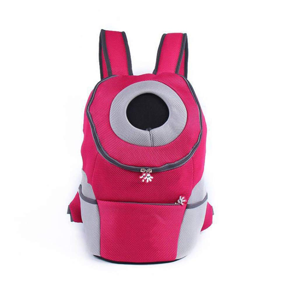 A LargeZHH pet backpack cat puppy backpack pet backpack pet out carrying bag chest backpack,C_XL