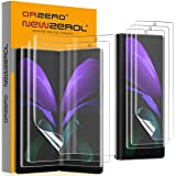 (3 Sets) Orzero 3 Pack Soft Front Screen Protector and 3 Pack Inside Screen Protector Compatible for Samsung Galaxy Z Fold2 5