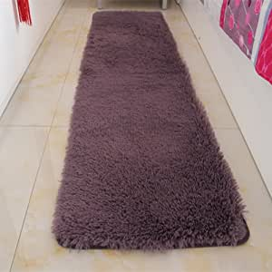 Door mat,Gate pad,Rug,Could be Washed by Water,Thicken,Long Cashmere,Hair mats,Bedroom,[Bedside],Bay Window mats,Balconies mats-K 160x230cm(63x91inch) 160x230cm(63x91inch)