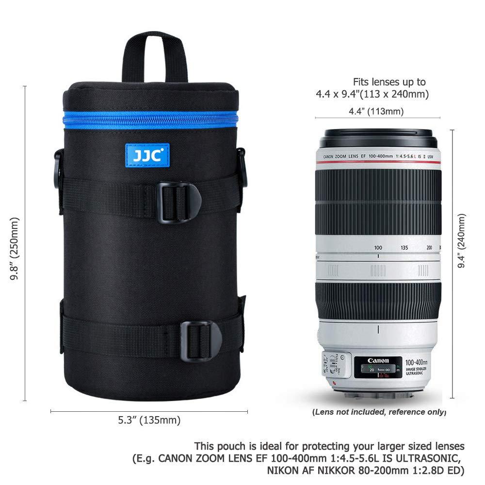 """4.9 x 12.2/"""" PROfoto.Trend//JJC Resistente al Agua Deluxe Funda para Objetivo con Correa 124 x 310mm Ver Descripci/ón para Compatibilidad Objetivo"""