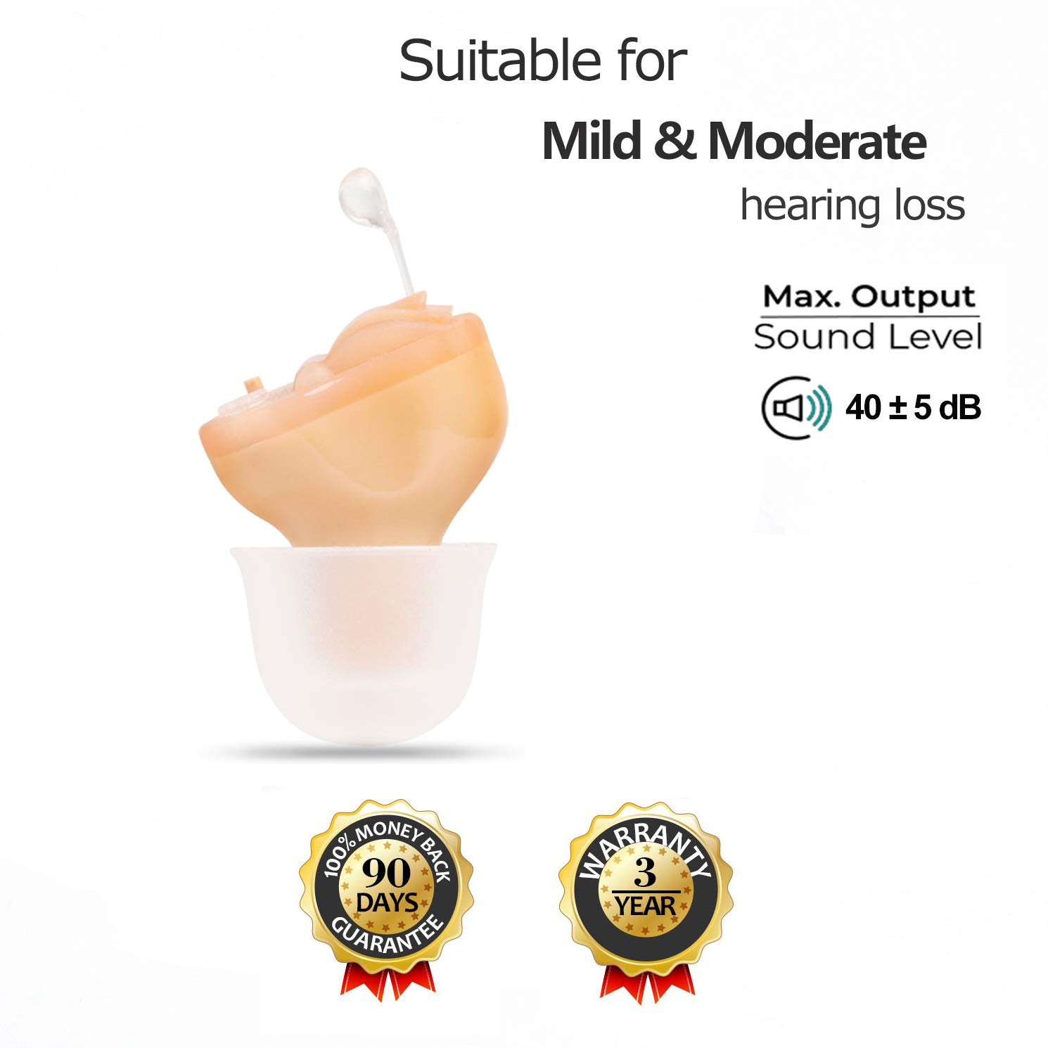 Hearing Amplifier Digital 6 Channels Noise Reduction Digital Chip Feedback Cancellation Hearing Enhancement