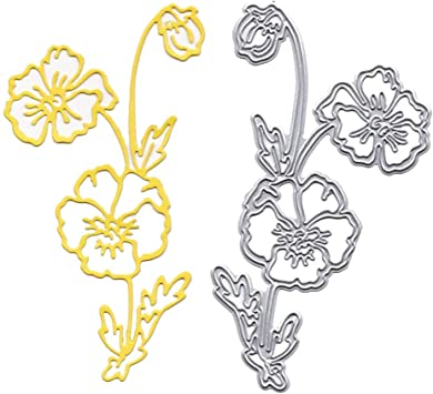 Rose Cutting Dies Scrapbook Paper Card Craft Decoration Die Scrapbooking Gift